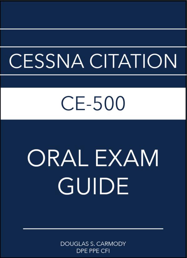 Cessna Citation CE-550 Oral Exam Guide